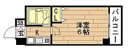 エスリード野田駅前[5階]の間取り