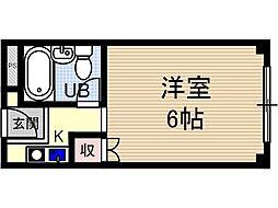 メゾンモアー[3階]の間取り