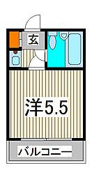 ジョイフル西川口第2[2階]の間取り