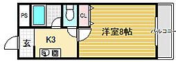 SAKAI東ビル[4階]の間取り