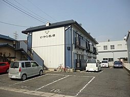 広島県福山市南本庄2の賃貸アパートの外観