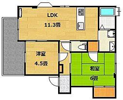 UraraI(ウララワン)[2階]の間取り
