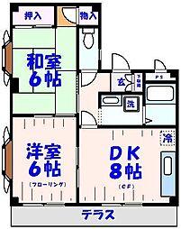 メゾン12[1階]の間取り
