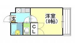 アイボリーハイツ C棟[1階]の間取り