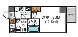 ザ・パーククロス阿波座(旧セレニテ立売堀)[10階]の間取り