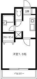 シェーナーハーフェン[4階]の間取り