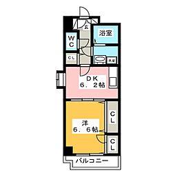 セトル吉塚[3階]の間取り