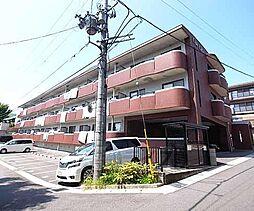 京都府八幡市男山松里の賃貸マンションの外観
