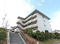 大阪府富田林市美山台の賃貸マンションの外観