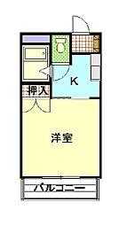GLORY・AOI[2階]の間取り