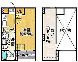 サクシード長洲東[0101号室]の間取り