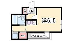メゾン・ドゥ・ロイ[3階]の間取り