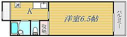 東京都品川区東大井5丁目の賃貸マンションの間取り
