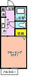 シャーメゾン椿森[103号室]の間取り