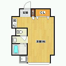 Flat136[2階]の間取り