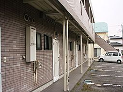 栃木県宇都宮市雀の宮5丁目の賃貸アパートの外観