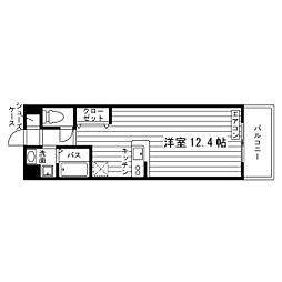 SAN−BOXII[5階]の間取り