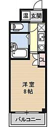 Shan-Gri-La Diamond Building[205号室号室]の間取り