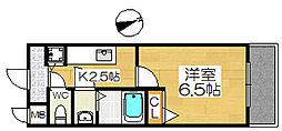 ファインコート北三国ヶ丘[2階]の間取り