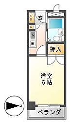 CASA NOAH名古屋I[4階]の間取り