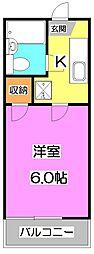 コートダジュールA[2階]の間取り