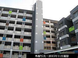 テレパレス船橋三咲A棟[4階号室]の外観