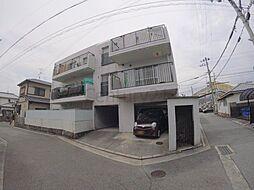 兵庫県宝塚市大吹町の賃貸マンションの外観