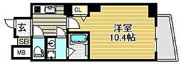 仮称)ヴィレッタ馬場町[6階]の間取り