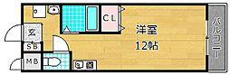 GRAND大垣内[5階]の間取り