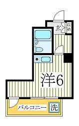 カシワ三都ヴィラ[2階]の間取り