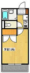 インペリアル湘南II[104号室]の間取り