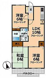 東京都杉並区宮前2丁目の賃貸マンションの間取り