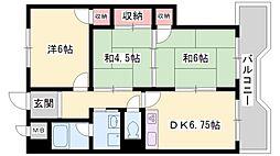 兵庫県高砂市伊保2丁目の賃貸マンションの間取り