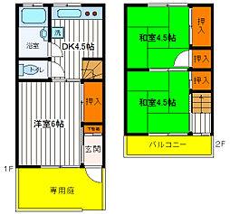 青梅線 中神駅 徒歩10分