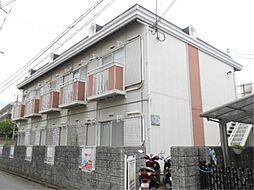 京都府京都市上京区藪之下町の賃貸アパートの外観