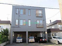 北海道札幌市東区北三十二条東7丁目の賃貸マンションの外観