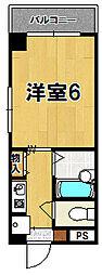 新大宮シティパル[3階]の間取り