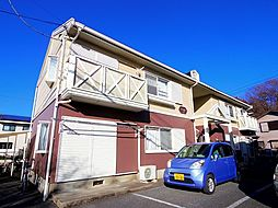 埼玉県所沢市中新井5丁目の賃貸アパートの外観