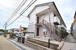 福岡県春日市天神山7丁目の賃貸アパートの外観