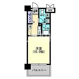 AXIS伊島[7階]の間取り