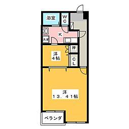 アルコ10[6階]の間取り