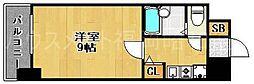 リヴァーオンステイツ[3階]の間取り