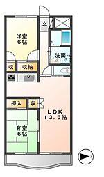小根山ビル[3階]の間取り