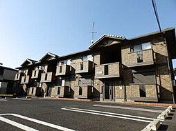 埼玉県深谷市上柴町西5丁目の賃貸アパートの外観