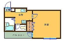 A-1ビル[3階]の間取り