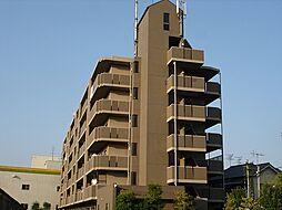 グランビューサン[4階]の外観