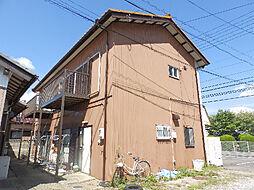 山中アパート[1階]の外観