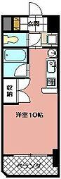 オリエンタル黒崎[903号室]の間取り