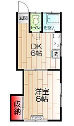 西武柳沢駅 5.0万円