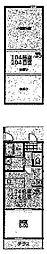 東急東横線 菊名駅 徒歩3分の賃貸アパート 1階1LDKの間取り